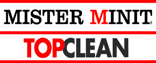 Mister Minit Top Clean logo